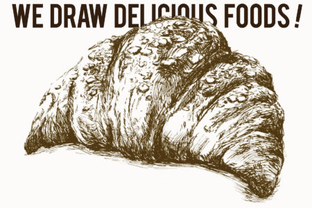 We Draw Delicious foods